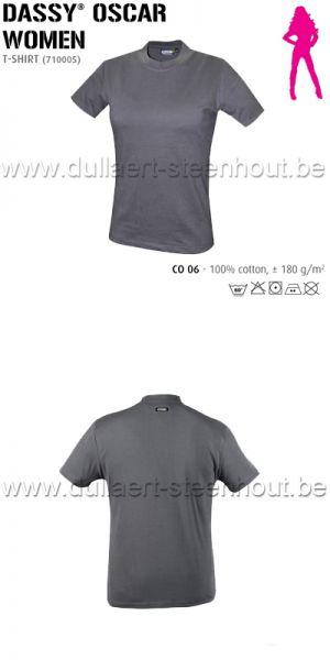 DASSY® Oscar Women (710005) T-shirt pour femmes - gris