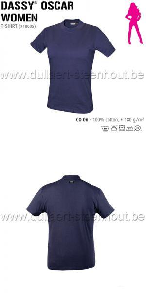 DASSY® Oscar Women (710005) T-shirt pour femmes - bleu marine