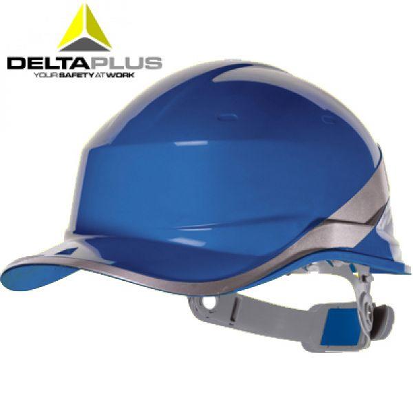 Deltaplus Casque de chantier forme casquette BASEBALL BLEU