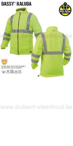 DASSY® Kaluga (300247) Veste polaire haute visibilité - jaune fluo