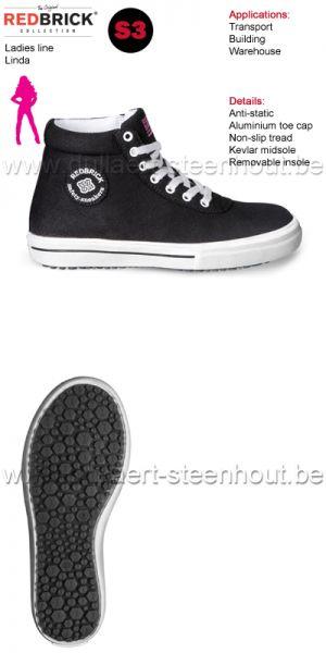 Redbrick - Chaussures de sécurité pour femmes Linda S3
