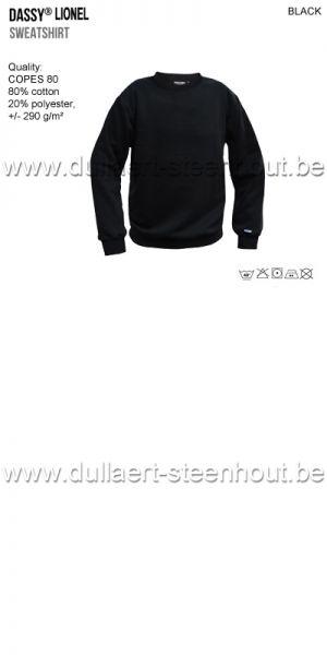 DASSY® Lionel (300449) Sweat-shirt - noir