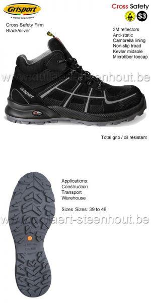 Grisport - Chaussures de sécurité Firm Cross S3