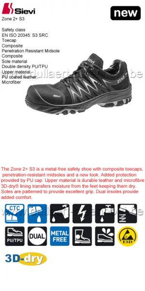 Sievi - Chaussures de sécurité Zone 2 + S3
