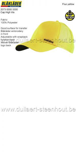 Blaklader - 207300003300 Casquette - jaune fluo
