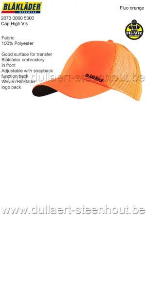 Blaklader - 207300005300 Casquette - orange fluo