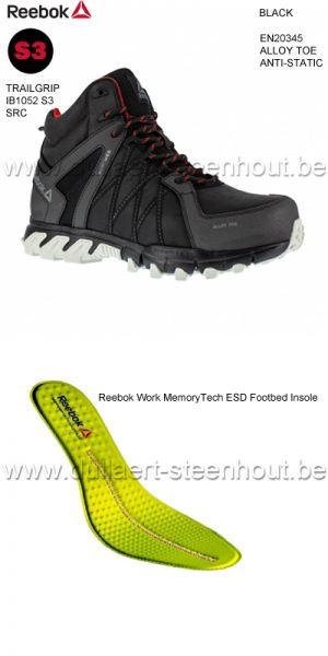 Reebok - Chaussures de sécurité Reebok S3 IB1052 Trailgrip