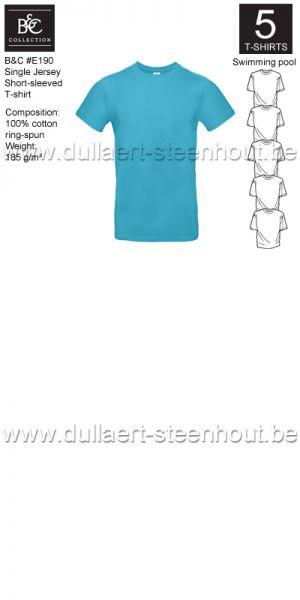PROMOPACK B&C E190 - 5 T-shirts / Swimming pool