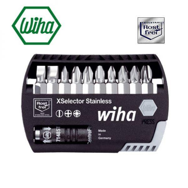 Wiha  XSelector 79449ST4 Coffret d'embouts  Acier inoxydable - 11 pièces