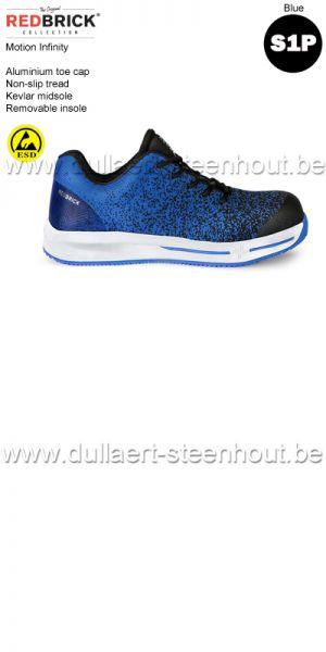 Redbrick motion - Infinity S1P Chaussures de sécurité - bleu