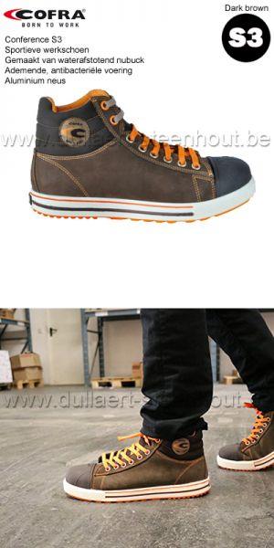 Cofra - Chaussures de sécurité  Conférence S3