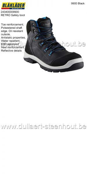 Blaklader - 243400009900 RETRO Bottes de sécurité / Chaussures de sécurité S3