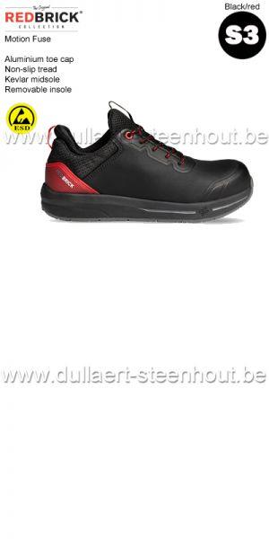 Redbrick Motion - Fuse S3  Chaussures de sécurité - noir
