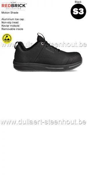 Redbrick Motion - Shade S3 Chaussures de sécurité - noir