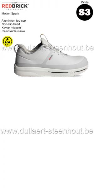 Redbrick Motion - Spark S3 Chaussures de sécurité - blanc