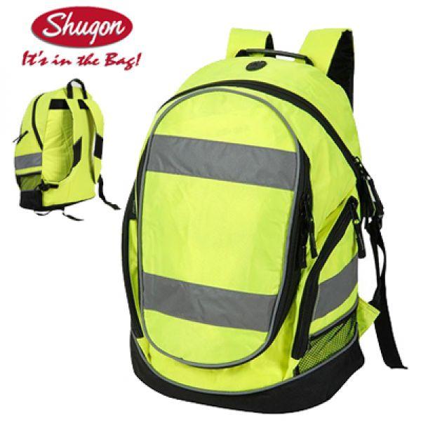 Sac à dos jaune fluo - Haute visibilité