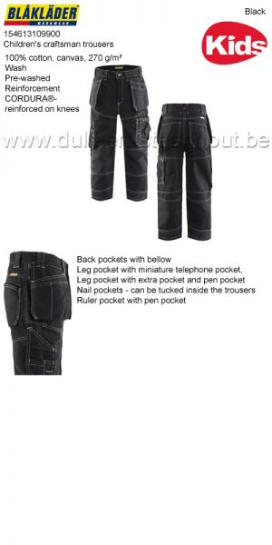 Blaklader - Pantalon X1500 enfant