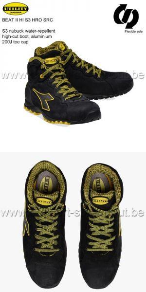 Diadora chaussure haute Hi Beat S3