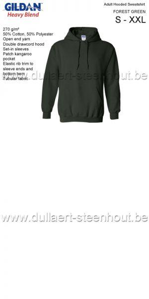 GILDAN Sweat Hooded 18500 - vert
