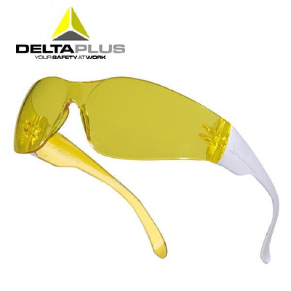 Deltaplus Brava2 Yellow - Lunettes polycarbonate monobloc