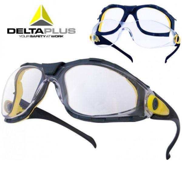 Deltaplus Pacaya clear - Lunettes polycarbonate monobloc incolore