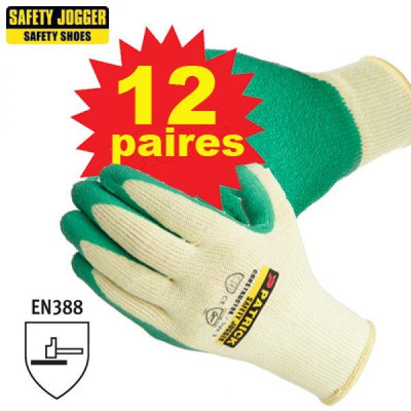 PROMPACK 12 paires gants de travail Constructo