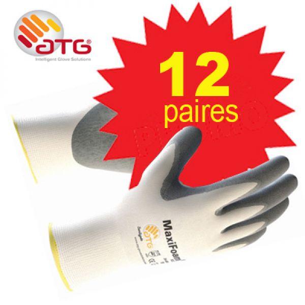 PROMOPACK - MaxiFoam gants en nitrile avec préhension