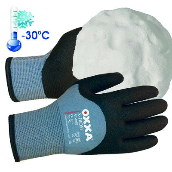 X-FROST Gants résistant au froid (-30°C)  avec une excellente grip