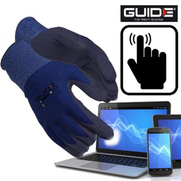 Guide 587 - Gants de travail pour écran tactile Smartphones/tablettes