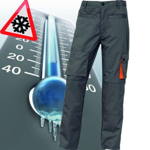 Deltaplus - Pantalon de travail DOUBLÉ MACH2 - gris