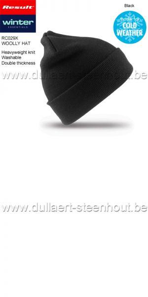 Result - Bonnet de Ski en Tricot / noir