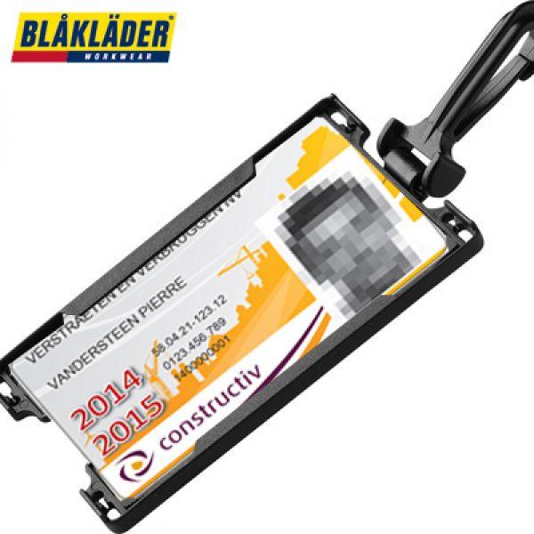 Blaklader - Poche détachable pour badge identifiant  / construbadge