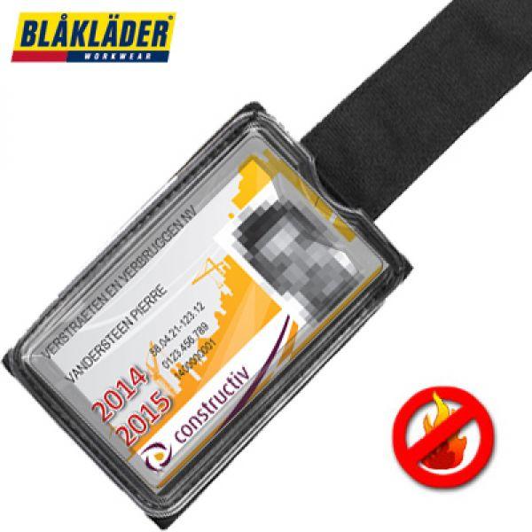 Blaklader - porte badge ignifugée