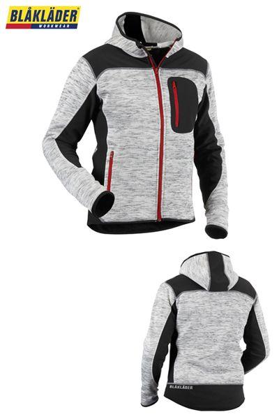 Blakläder veste tricotée gris/noir - 4930 2117 9099