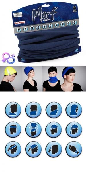 Morf™ Suprafleece™ en matière respirante / bleu marine