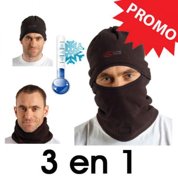 Bonnet  polaire 3 en 1