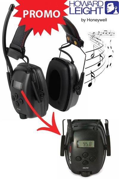 Sync™ Digital AM/FM Casque-radio antibruit avec display digital