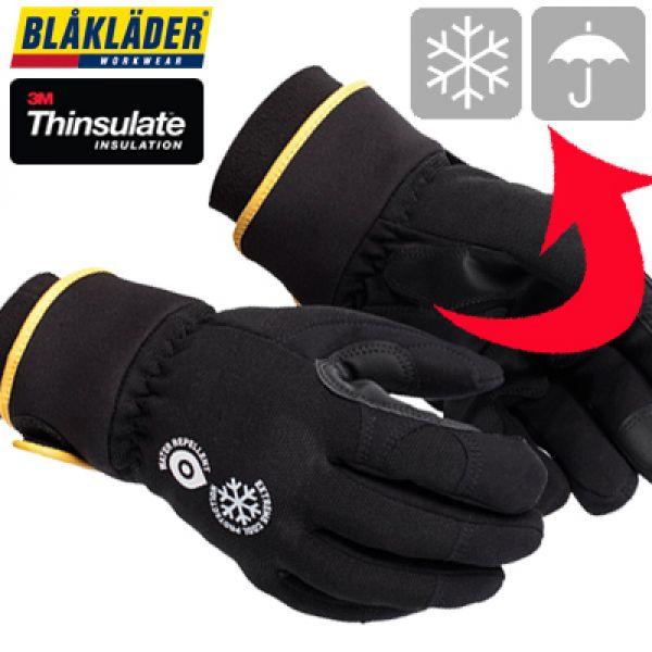 Blaklader - Gants cuir synthétique avec paume renforcée caoutchouc. Usage : -5° à -20°C