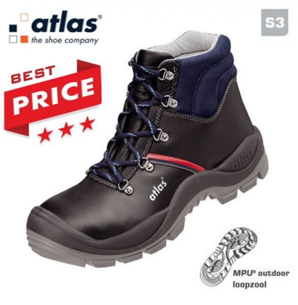 ATLAS - Chaussures de sécurité S3 Anatomic bau