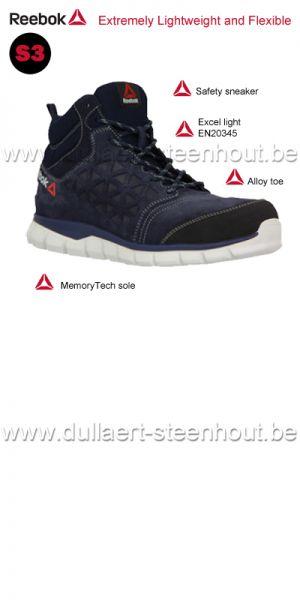 Reebok work - Excel Light Athletic Oxford Chaussures de Sécurité IB1035S3