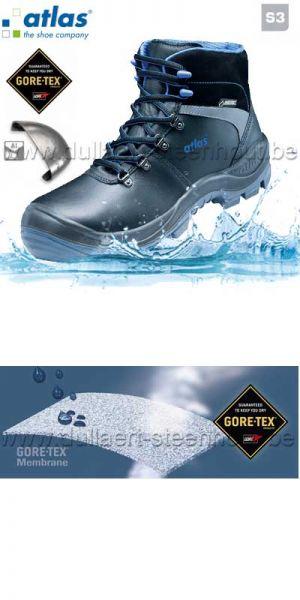 ATLAS  - Chaussure haute de sécurité GTX 745 XP CI protection S3 noir