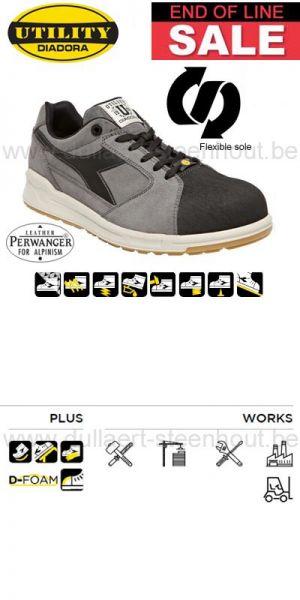 Diadora - Chaussure de sécurité basse DIADORA D-JUMP LOW PRO S3 SRC ESD gris / Noir