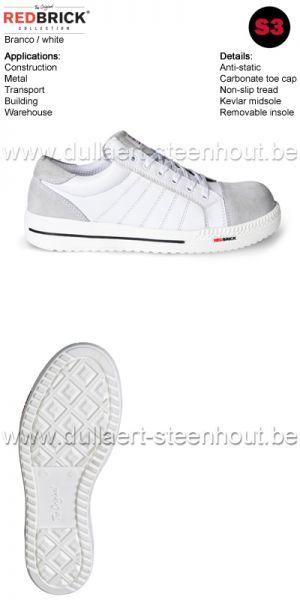 Redbrick Branco - Chaussures de sécurité S3