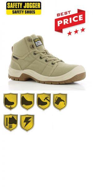 Safety Jogger - Chaussures de sécurité S1P Desert / beige
