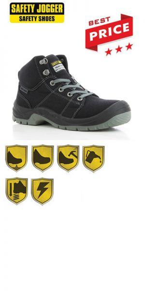 Safety Jogger - Chaussures de sécurité S1P Desert / noir