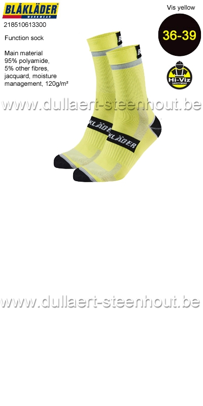 Blaklader - 218510613300 Chaussettes fonctionnelles - 36-39