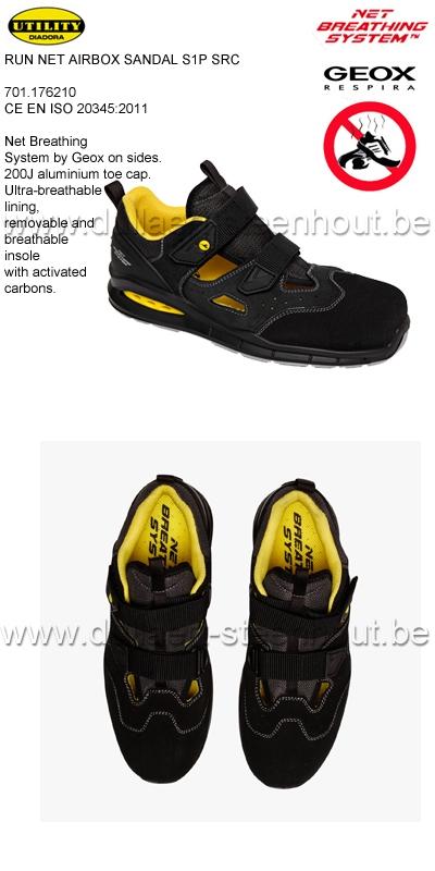 Diadora - Run Net Airbox Sandales de sécurité S1P